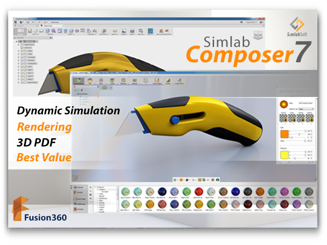 Integrating SimLab Composer 7 with Fusion 360 | Simlab Soft's Blog