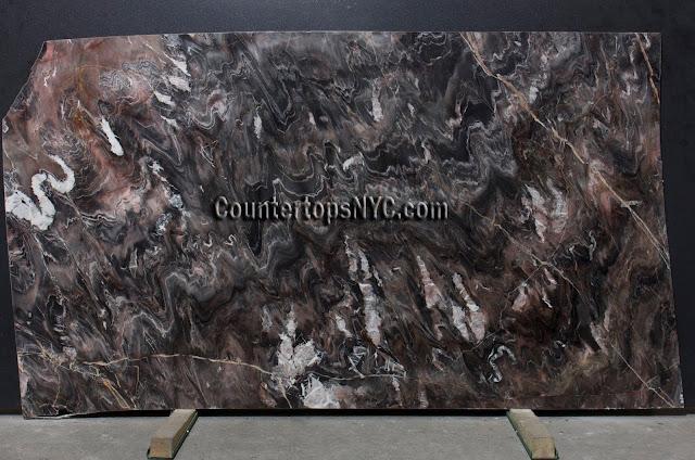 Venice Black Marble Slab NYC 2cm