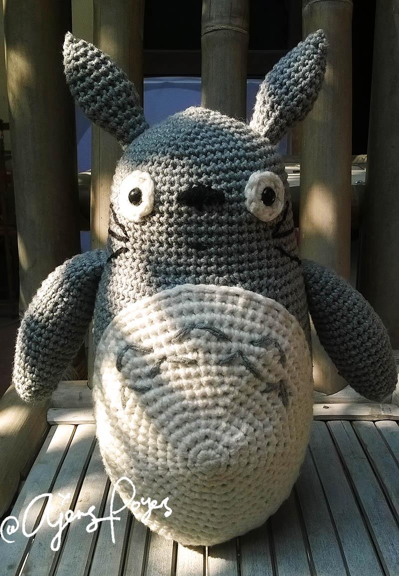 Ajeng Belajar Merajut: Free Crochet pattern: Totoro & Toothless