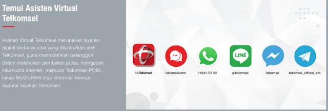 asisten virtual telkomsel