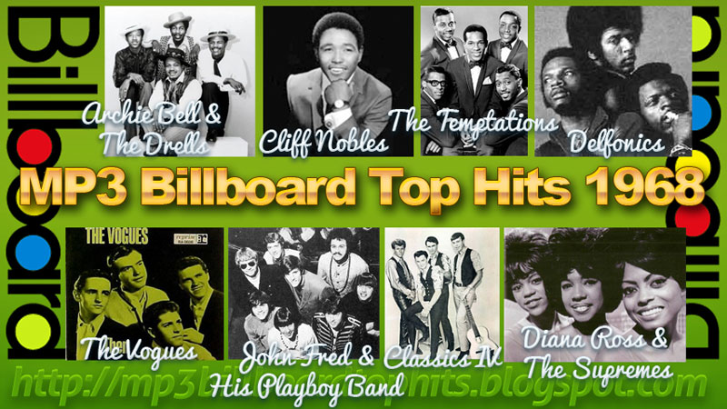 Mp3 BILLBOARD 1968billboard Music Chart 19681968 Billboard Hits