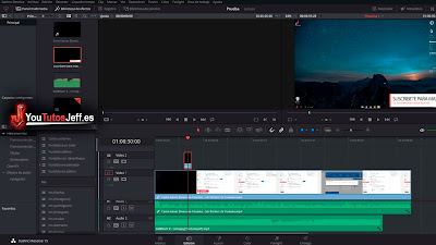 descargar editor de video gratis DaVinci Resolve 15