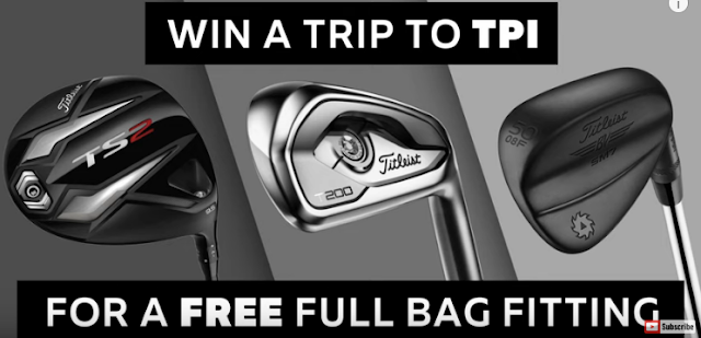 MyGolfSpy wants you to enter for a chance to win a golfer's dream trip to visit the Titleist Performance Institute for a free full bag fitting, worth almost $5000!