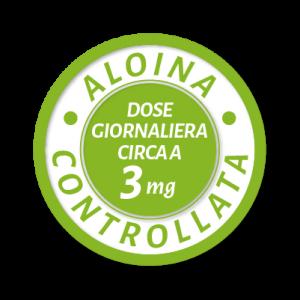La quantità di aloina nella dose giornaliera delle capsule, grazie al metodo HDR® è ben al di sotto dei 10 mg.