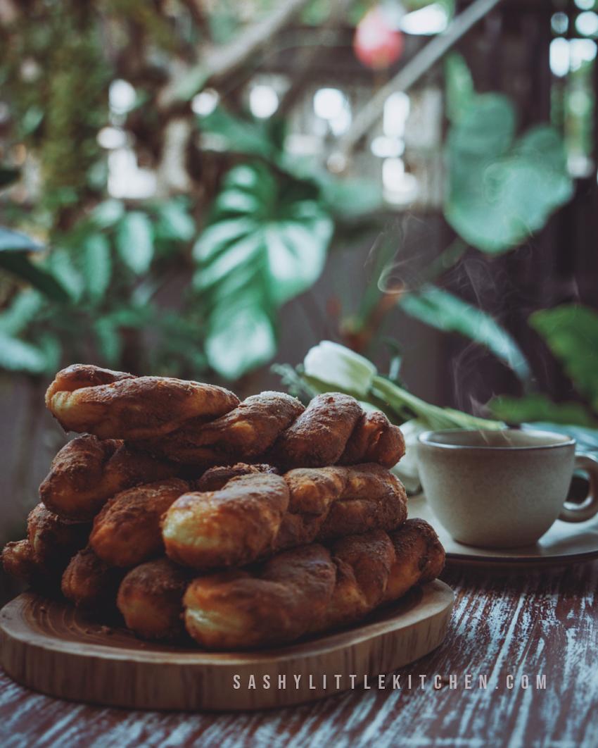 Korean Twist Donut (Donut Plintir ala Tous les Jours)