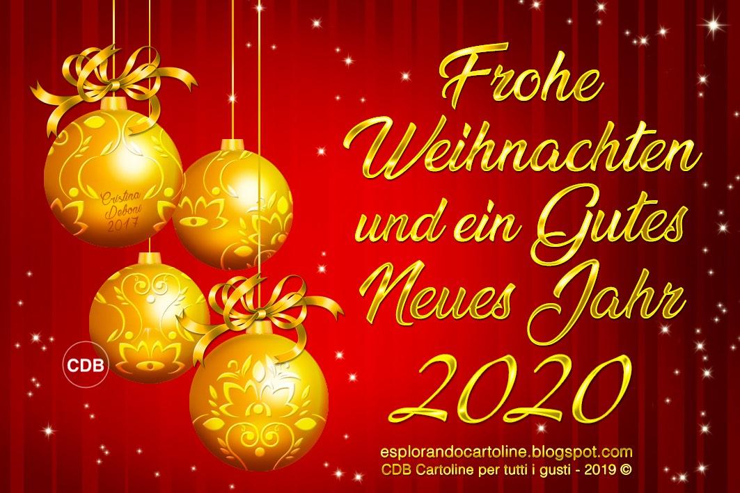 Gutes Neues Jahr 2020 Frohe Weihnachten Und Ein Gutes Neues Jahr
