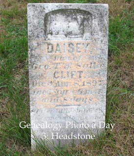 Daisey Clift tombstone https://jollettetc.blogspot.com