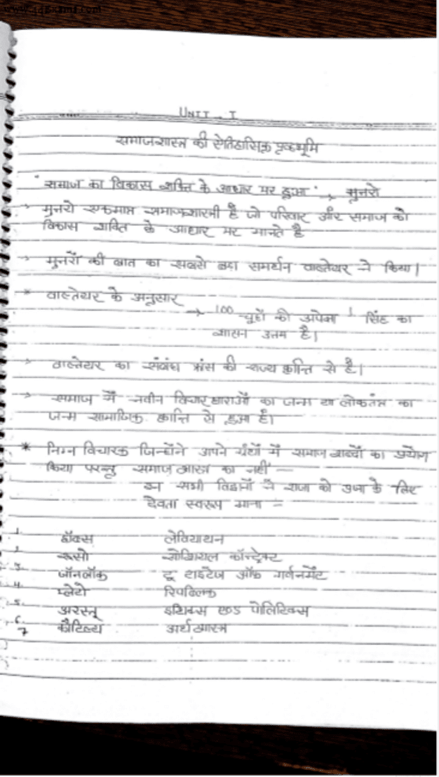 Sociology-Hand-Written-Notes-For-All-Competitive-Exam-Hindi-PDF-Book