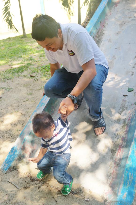 bermain dengan anak di museum tanjung pandan belitung