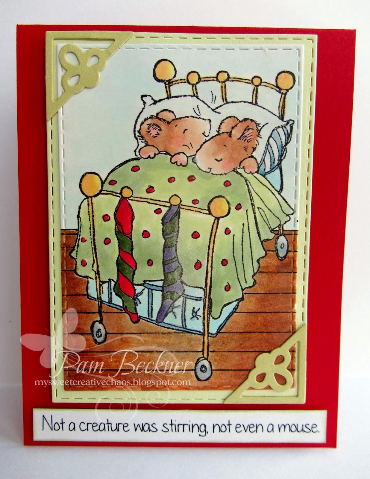 Crafty Cardmakers 153 Depict The Poem