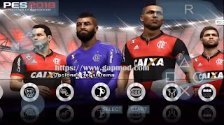 PES 2018 MX League v2 PSP Android