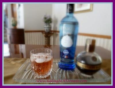 Whipped Raspberry | recipe developed by www.BakingInATornado.com | #recipe #drink