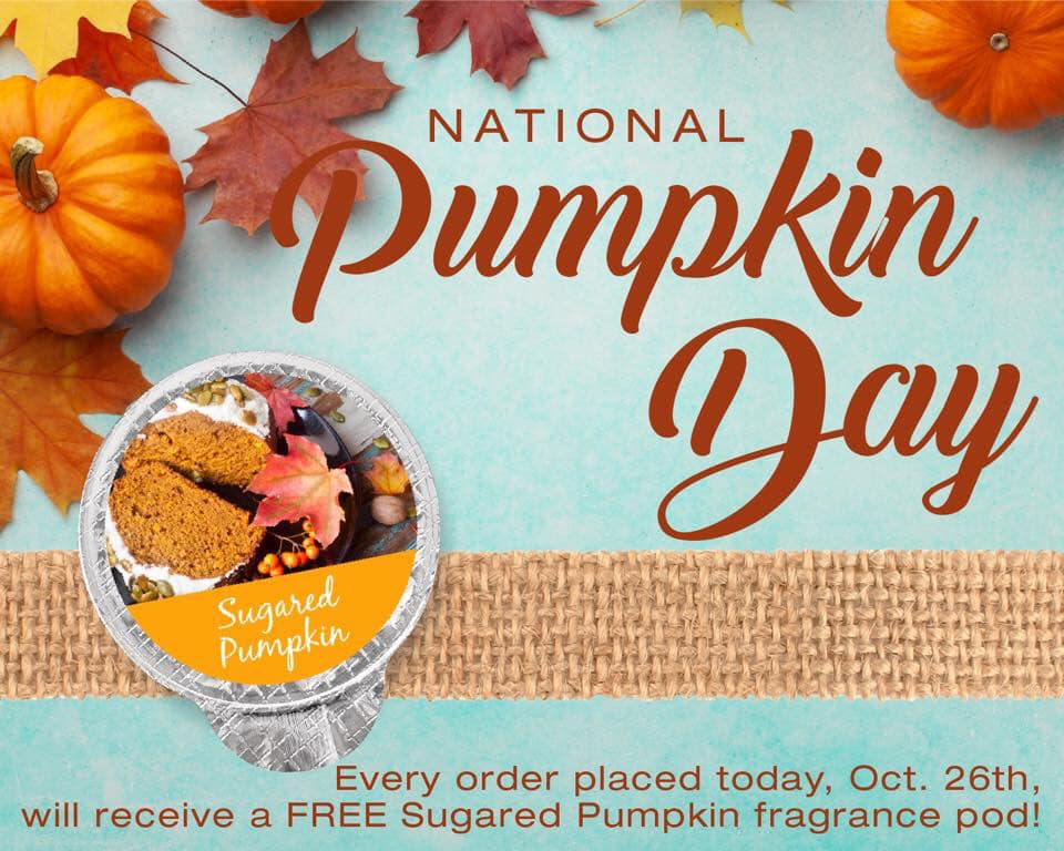 National Pumpkin Day Wishes Awesome Images, Pictures, Photos, Wallpapers