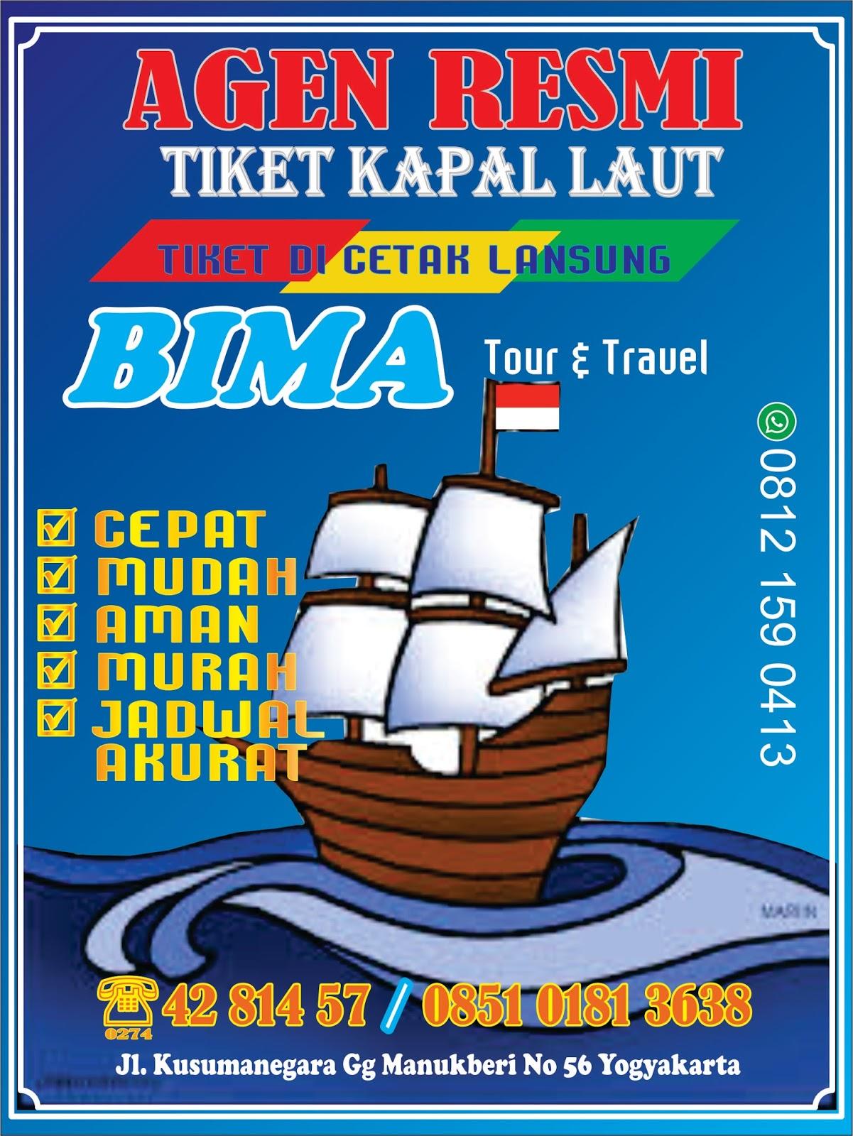 Agen Resmi Tiket Pesawat Kapal Laut Travel Bus Malam