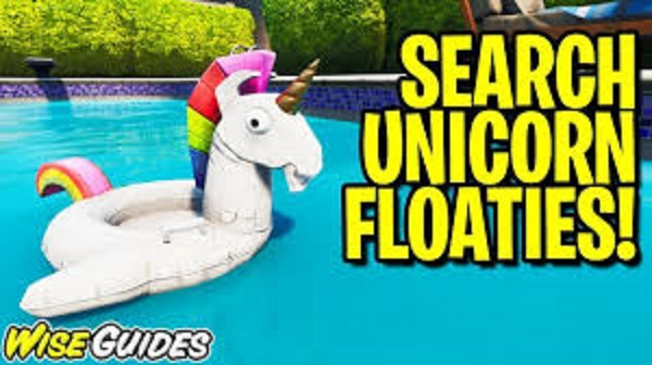 'Fortnite' Unicorn Floaties Locations: Where To Search Unicorns At Swimming Holes