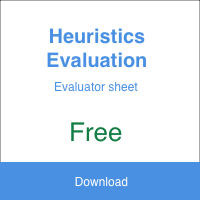 Heuristic Evaluation Evaluator Sheet