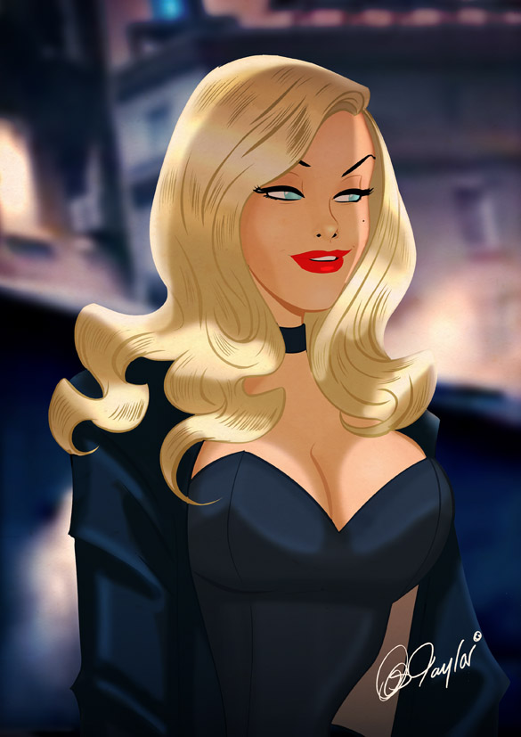 Lois Valentine >> Latest Hero Art! Supergirl, Black Canary, Christopher Reeve and Michael Jackson by Des Taylor ...