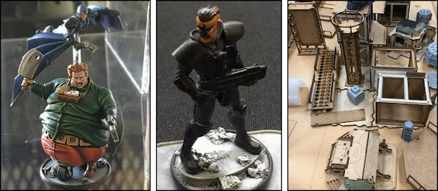 Breaking! Warlord Games: New Judge Dredd Miniature Game Preview!