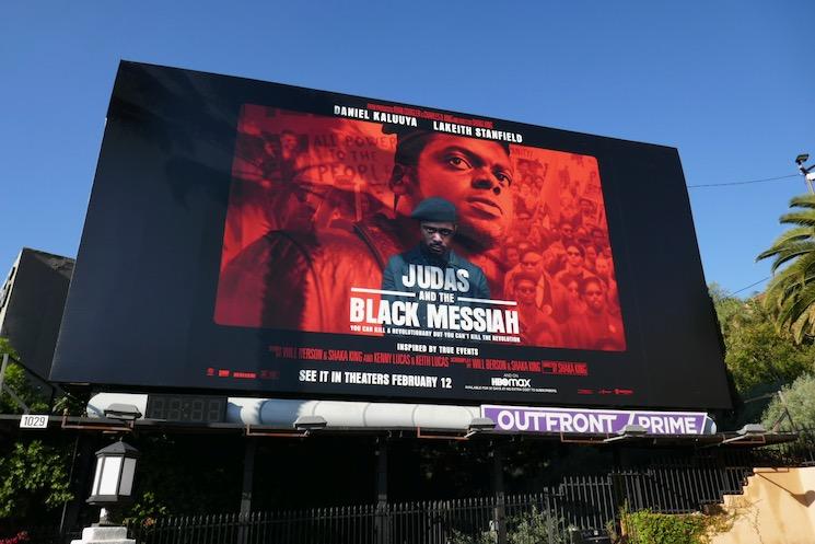 Judas and the Black Messiah movie billboard