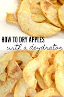 how to dry apples with a dehydrator