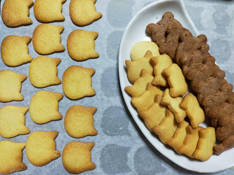 娘の手焼きクッキー