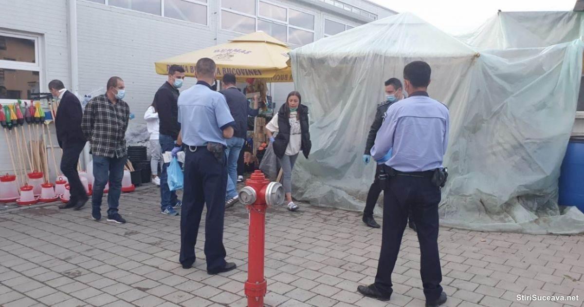 Crimă Piața Burdujeni Suceava