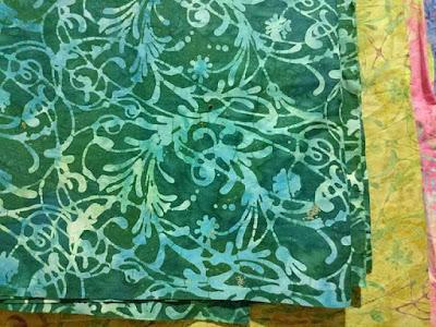 Batik Quilts dlidir dengan warna menarik