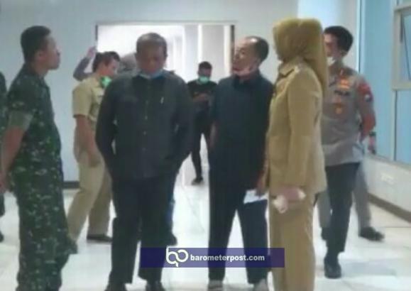 Tinjau Kesiapan Tempat Karantina  (ODP) Dan (ODR)  Covid -19 Kabupaten Jember