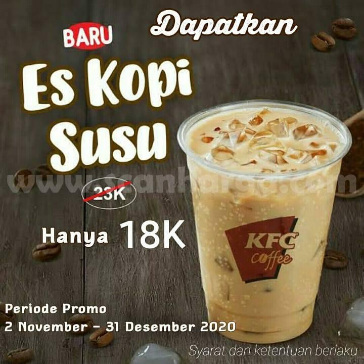 KFC Coffee Promo ES Kopi Susu Cuma Rp 18.000