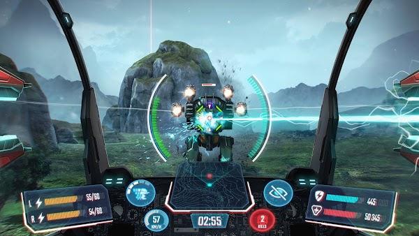 Robot Warfare Mech Battle 3D PvP FPS v 0.2.2310 MOD APK (MEGA MOD VIP)