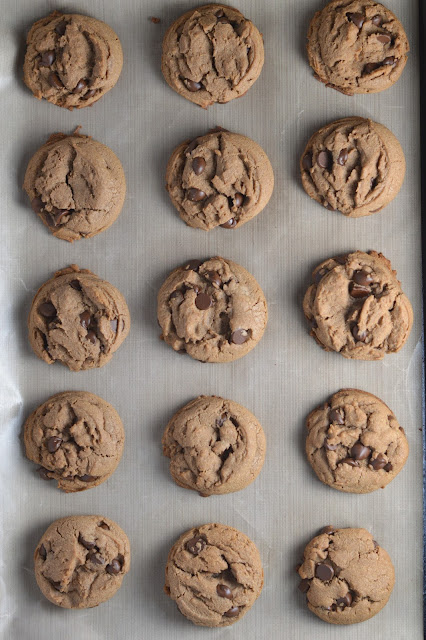 Soft Nutella Chocolate Chip Cookies Recipe
