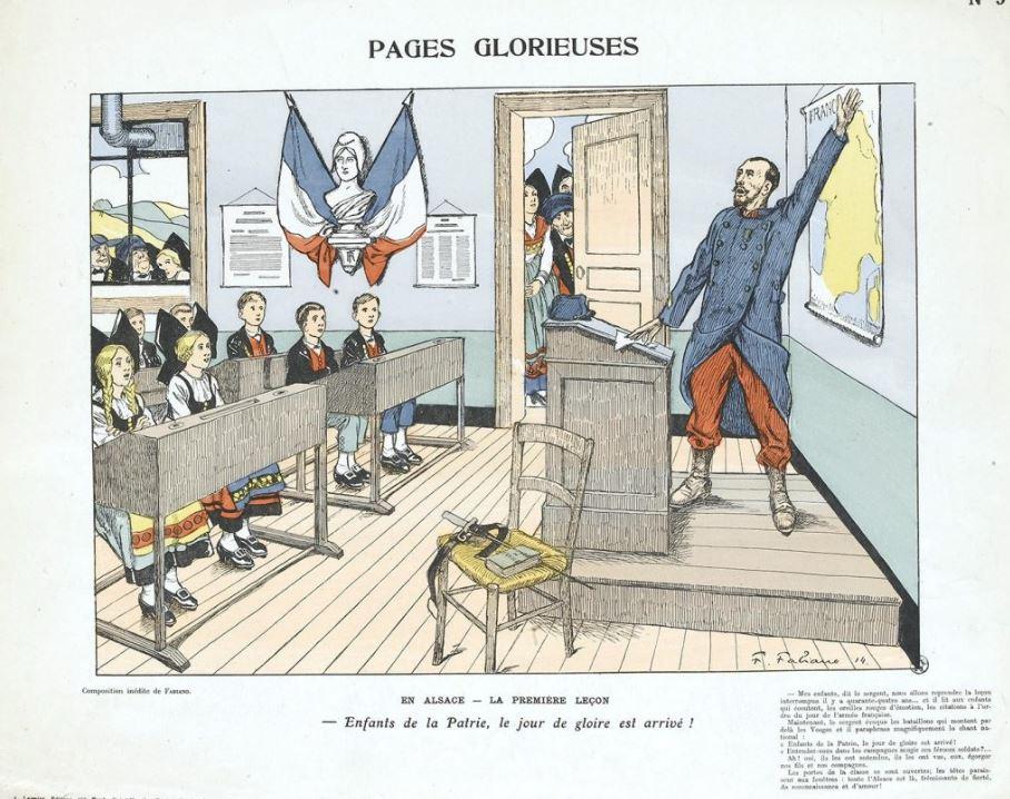 propagande française Alsace