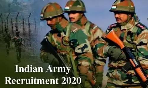 Indian Army Recruitment 2020:भारतीय सेना भर्ती के लिए जल्द करें आवेदन, 4 फरवरी से शुरू होगी रैली