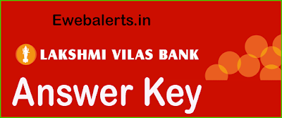 Lakshmi Vilas Bank (LVB) Answer Key