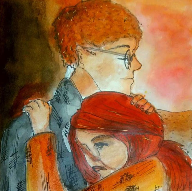 tom and hester art from Mortal Engines
