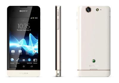 Sony Xperia SX putih