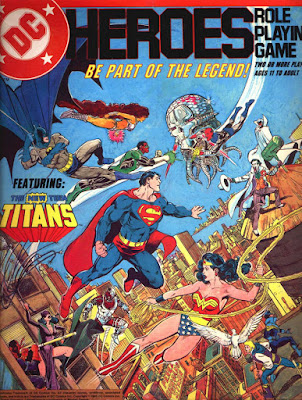 DC Heroes Roleplaying Game 1ed