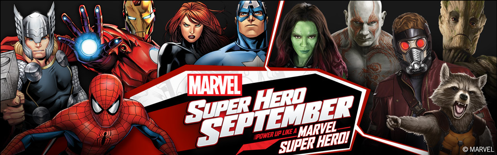 Power Up Like a Marvel Super Hero and Win a Disney Cruise