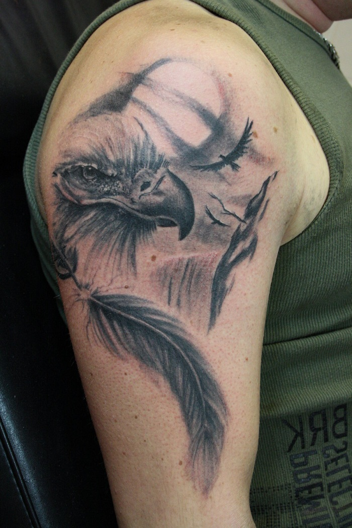 Tattoo Ideas Eagles: Top +25 Eagle Tattoo Inspiration