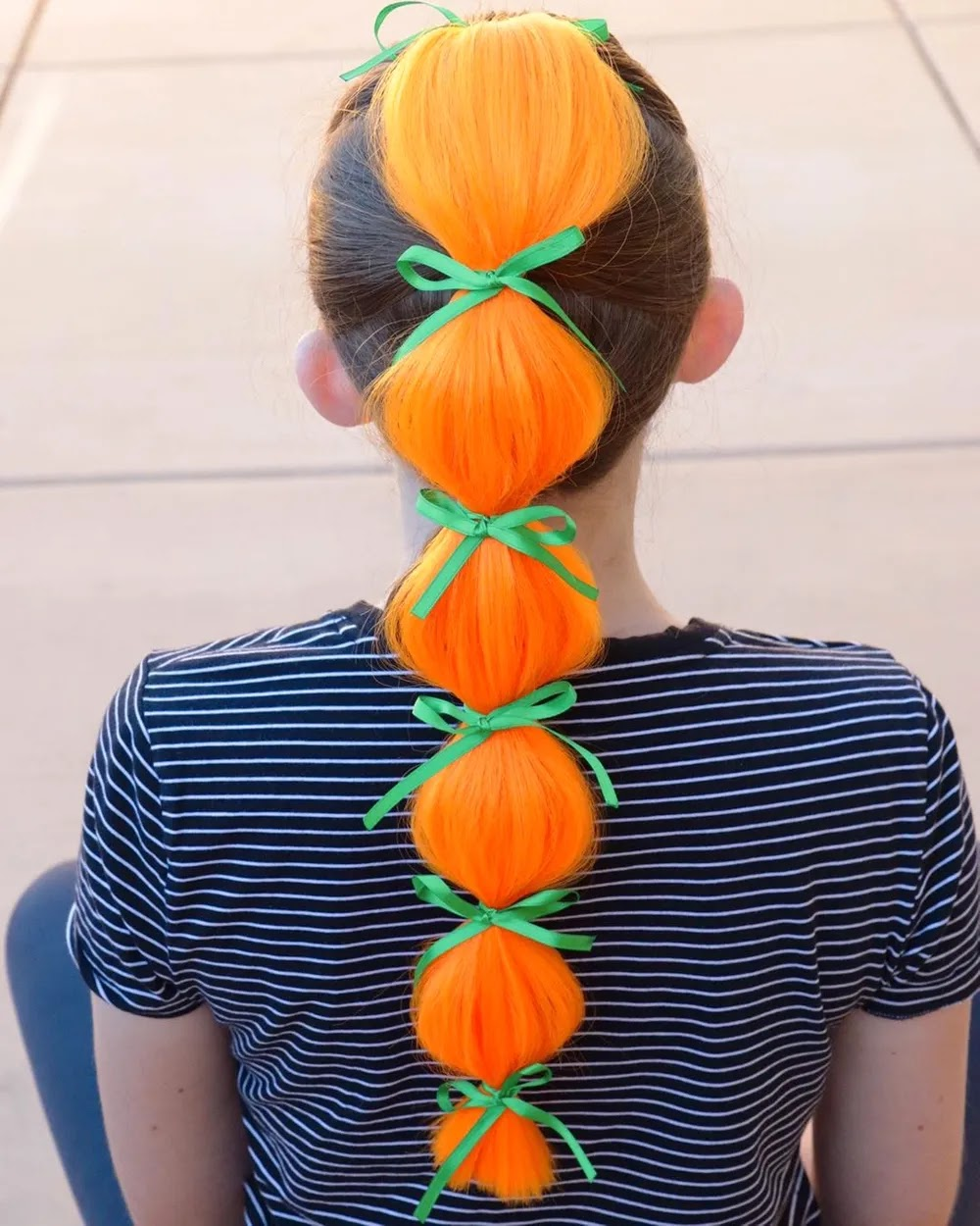 People Are Transforming Their Hair Into Pumpkins Orange Hairs