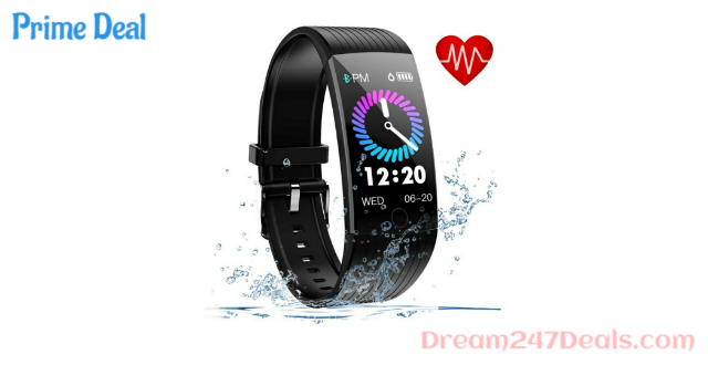 50% Off Fitness watch with heart rate monitor