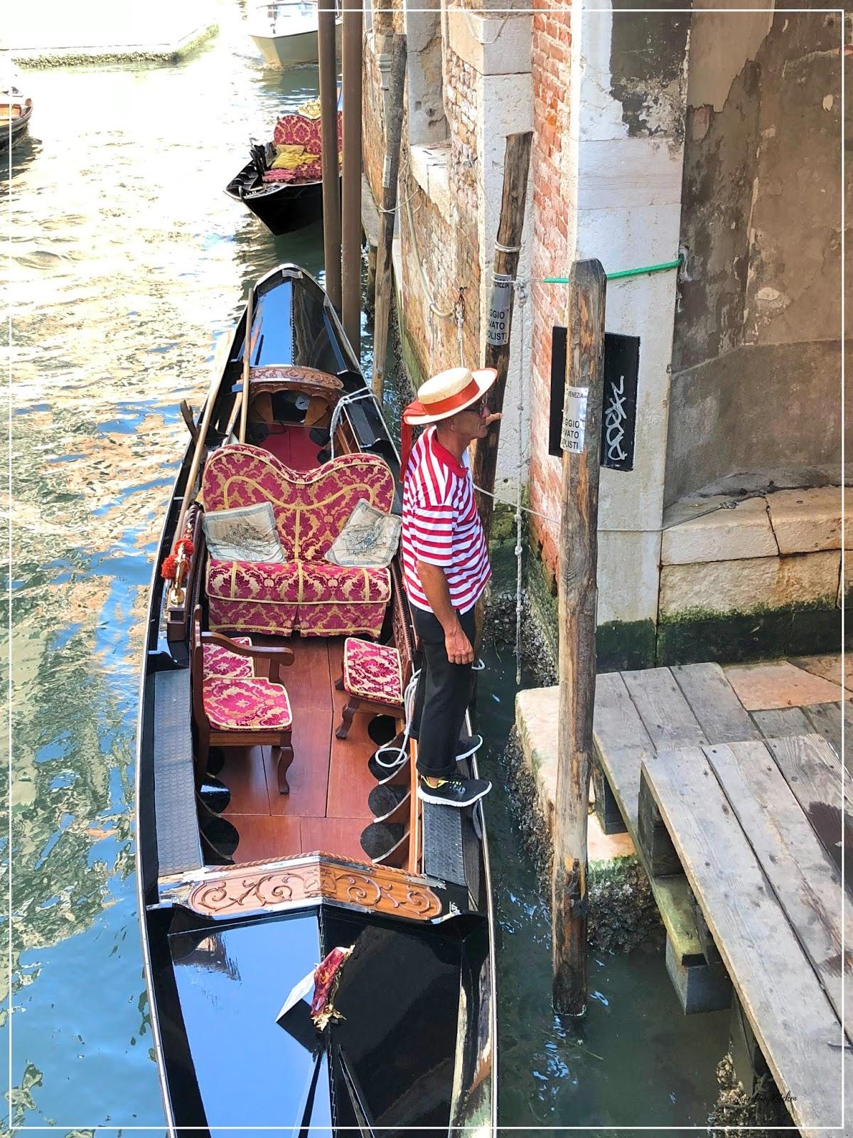 Veneza passeio gondola