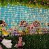 Tema da festa: Jardim florido da Minnie