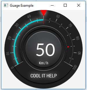 COOL IT HELP: How to create Gauge in JavaFX? | Medusa Gauges