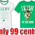 Children's Place Boys or Girls' Irish T-Shirts Only 99 Cents + Free Shipping. They Also Have 60% off the Entire Site and 70% off Clearance Items - SO MANY GREAT DEALS!