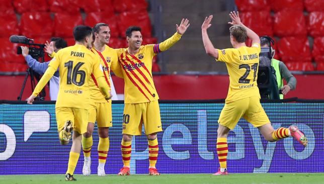 ملخص وأهداف مباراة برشلونة ضد أتلتيك بيلباو