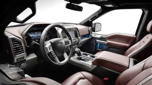 2018 All new Ford F-150 more comfortable interior view