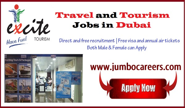 Dubai jobs for Indians, Dubai jobs with free visa and air ticket,