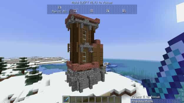 مود البناء الجاهز The Mighty Architect