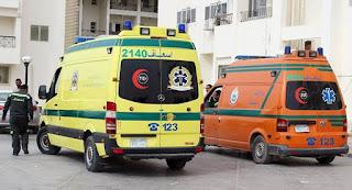 مصرع شخصين وإصابة آخر بحادث علي طريق السوالم بكفر سعد.